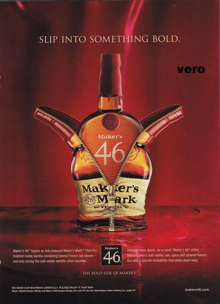 2014 magazine ad MAKER'S MARK Whisky alcohol advertisement ...