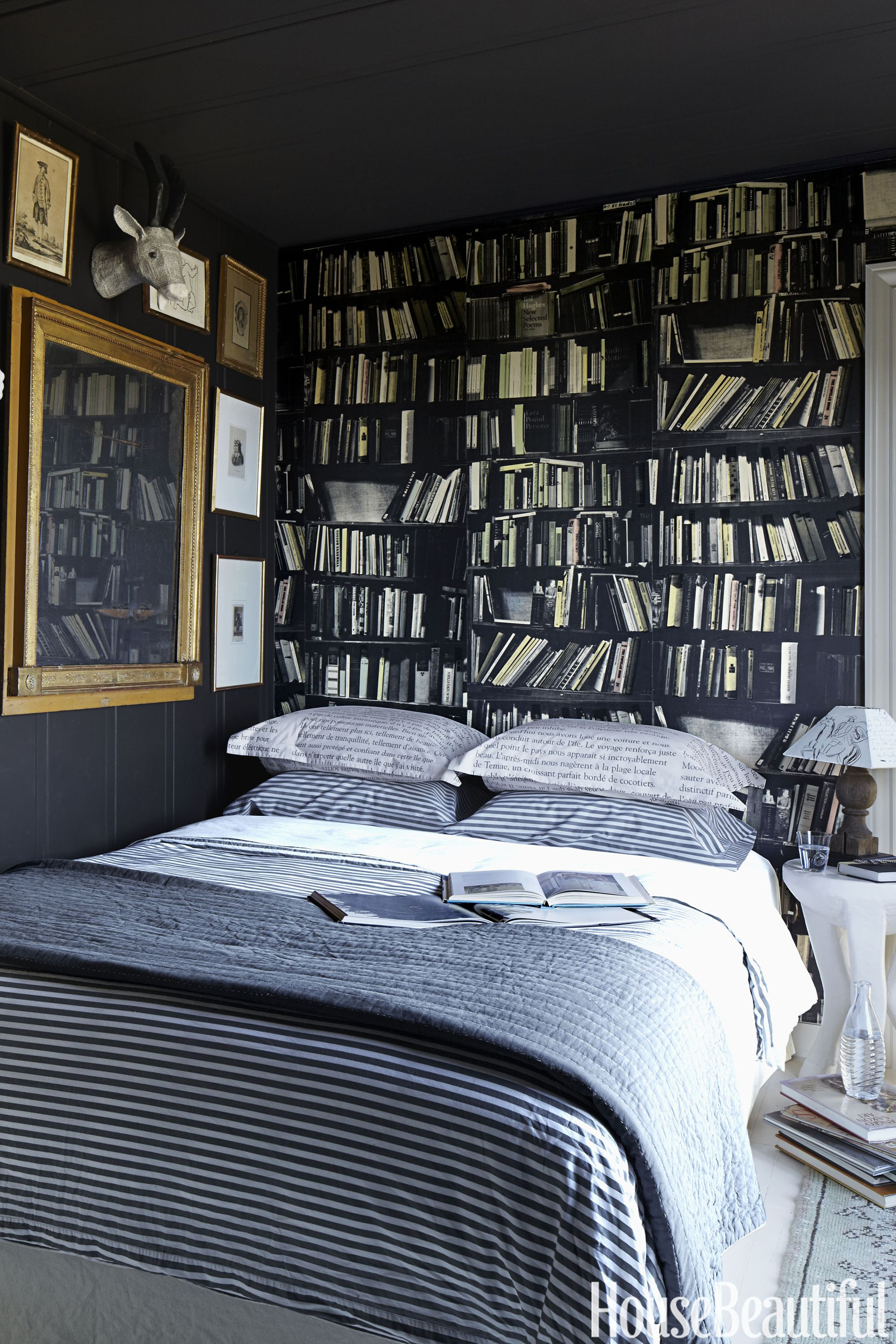 Got A Small Bedroom You Ll Love These 17 Space Saving Ideas Small Bedroom Designs Eclectic Bedroom Blue Bedroom Decor
