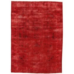 Turkish Red Overdyed Rug Opinion