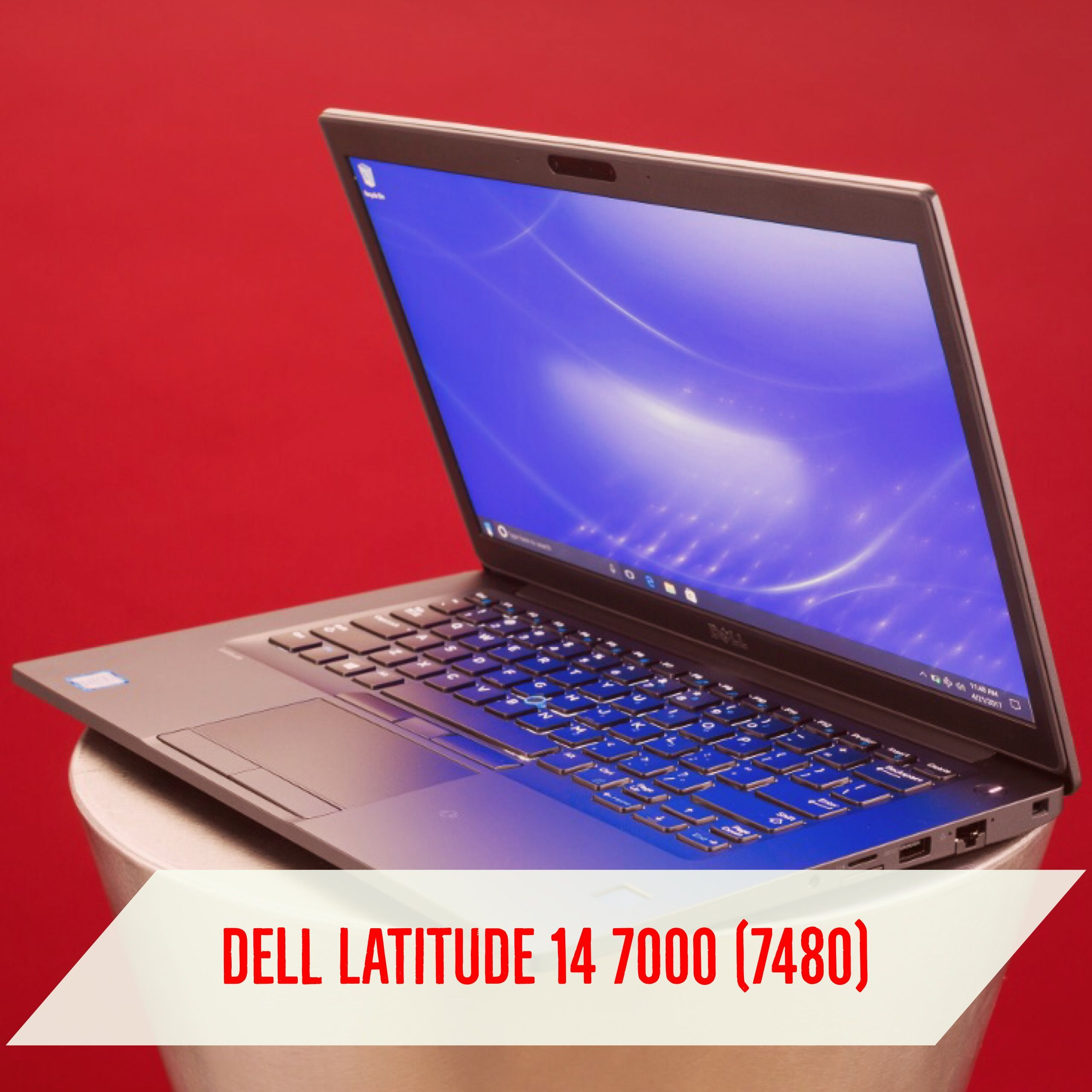 How is the laptop configured