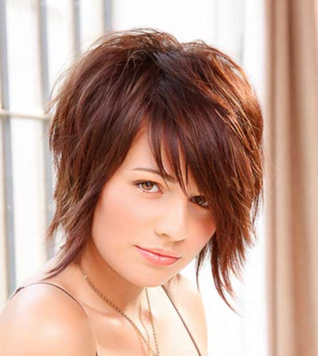 short hairstyles round face simple styled hairdo this style is