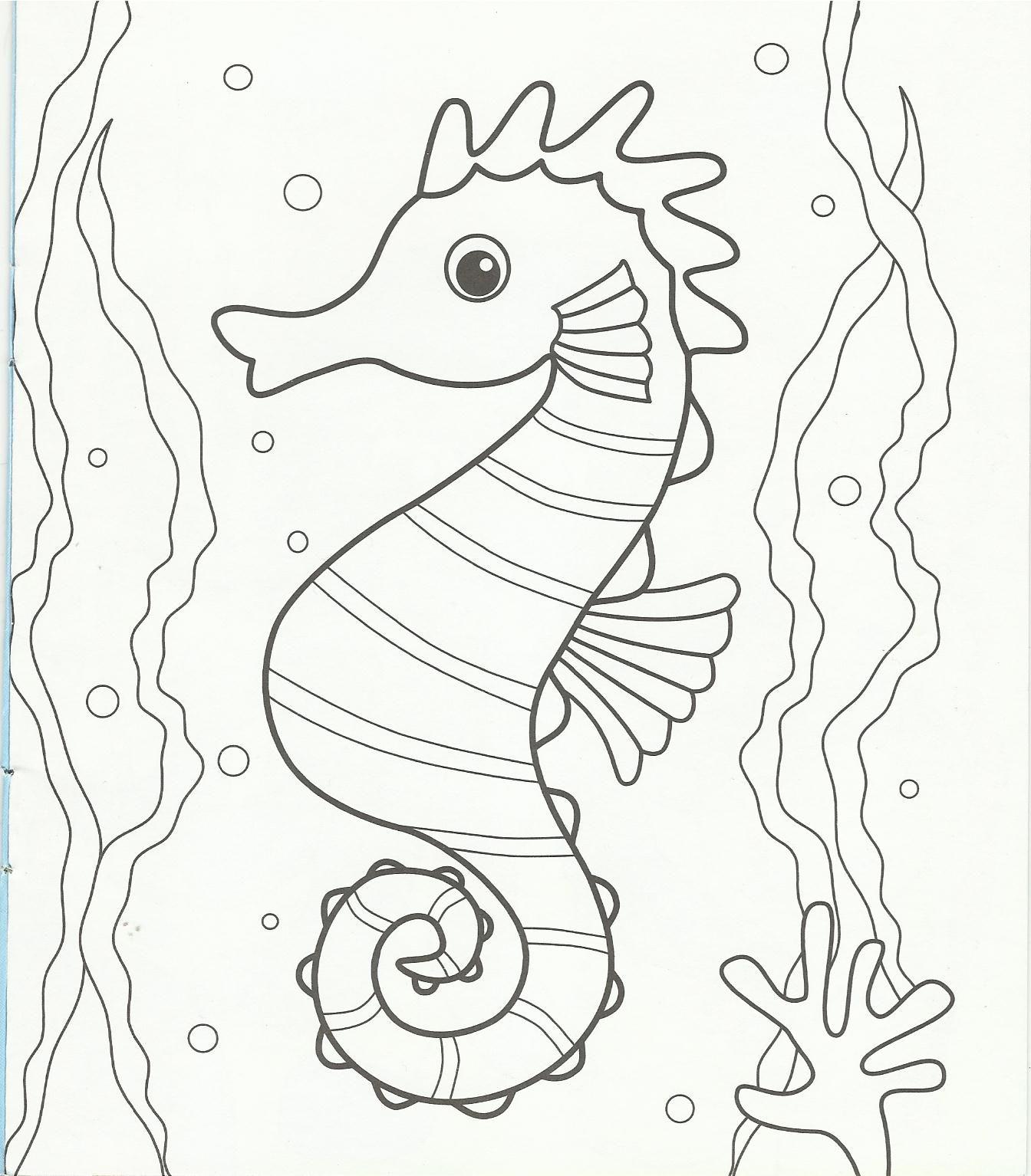 детская раскраска морские животные: 19 тыс изображений ...