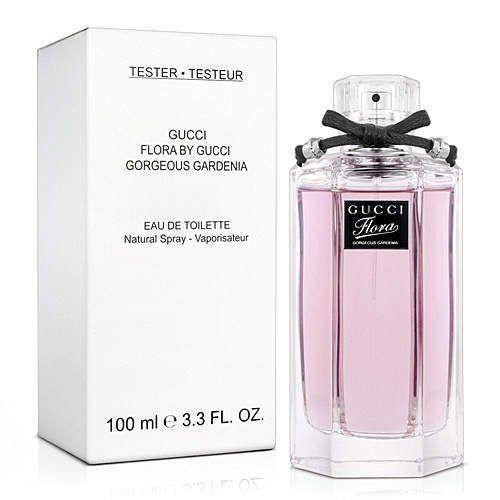 514725a56e3 Flora Gorgeous Gardenia Perfume by Gucci 3.3 oz Eau De Toilette Spray  TESTER NEW  Gucci