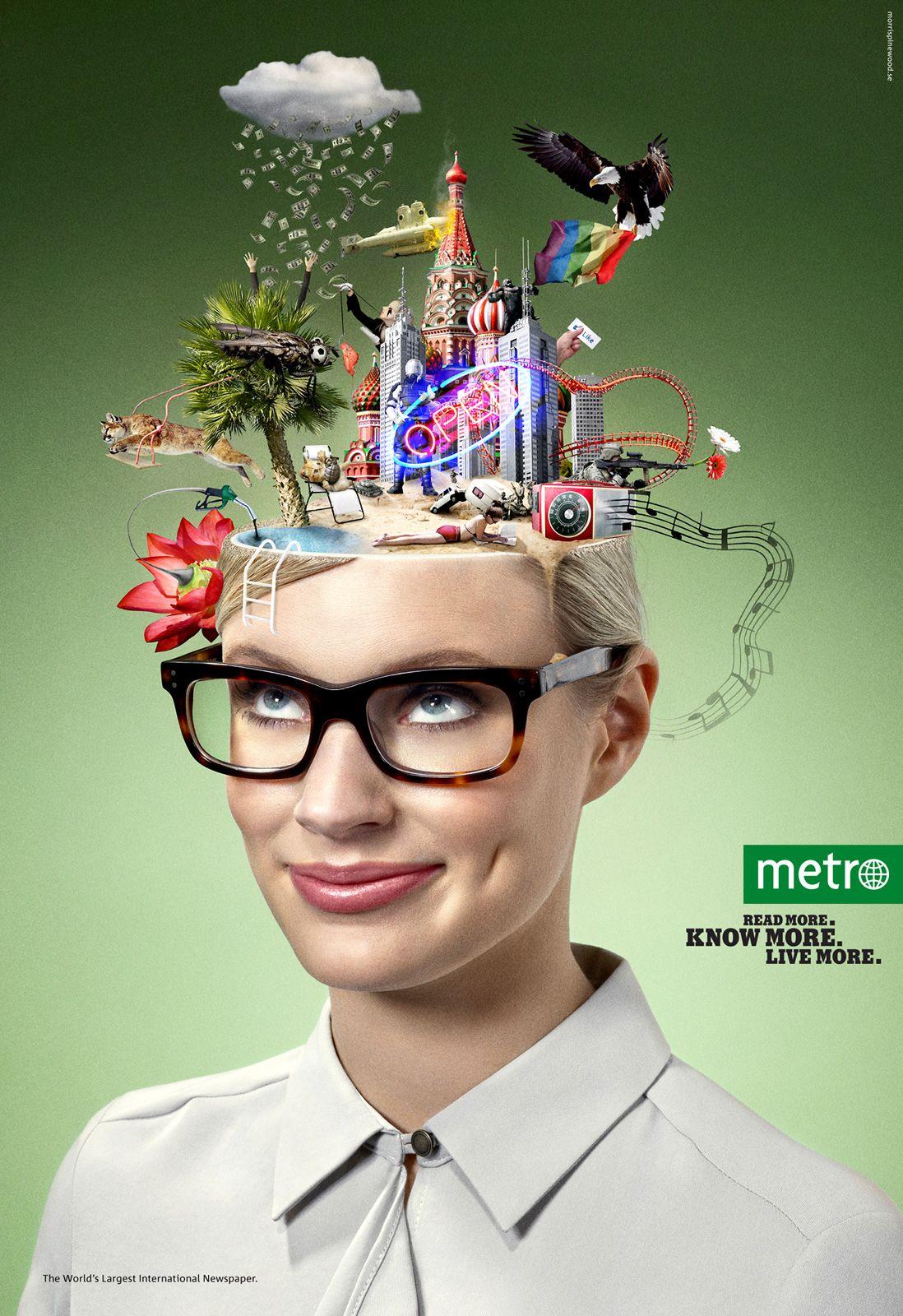 live more | creative ad awards | graphic design. | pinterest