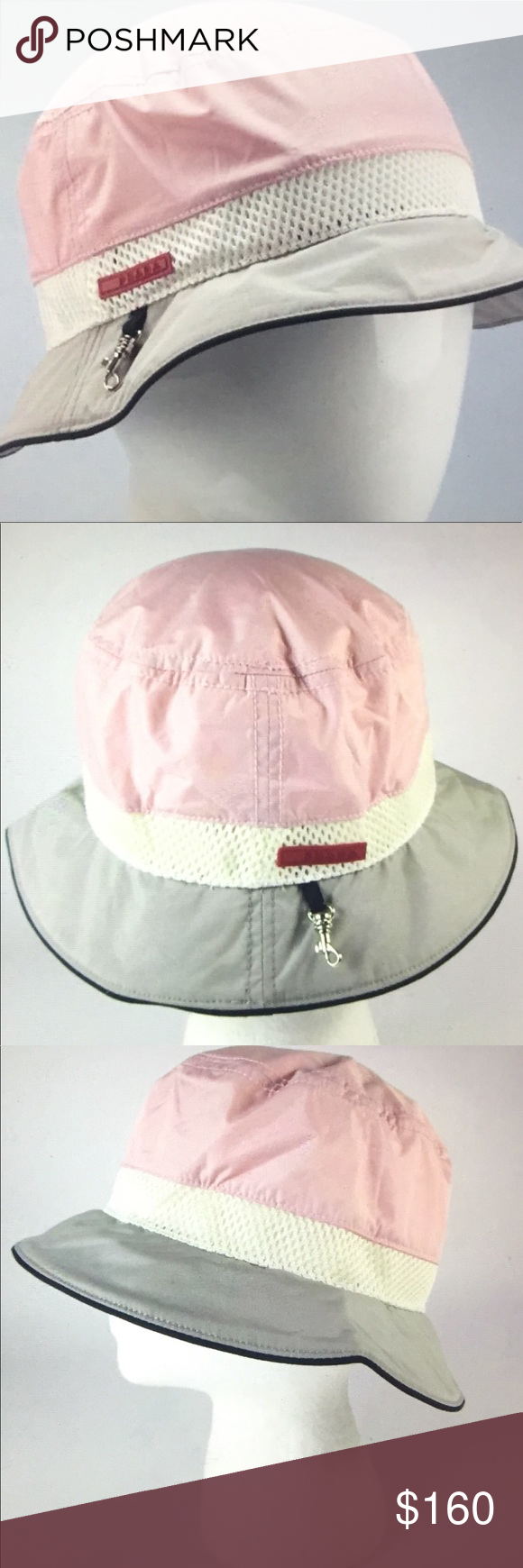 881caee5c12 🆕 Prada Logo Bucket Hat