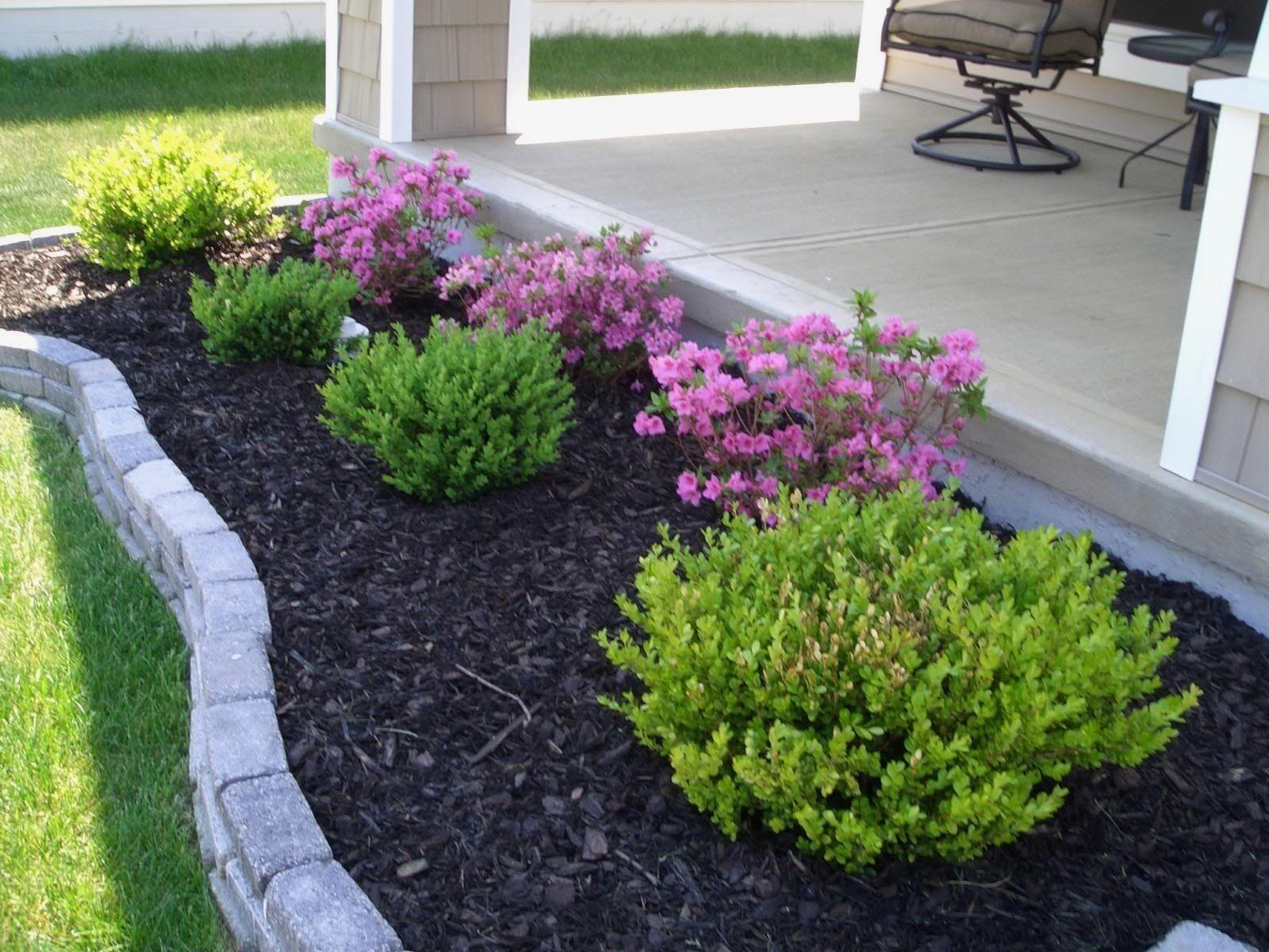 Easy Front Yard Design Karice