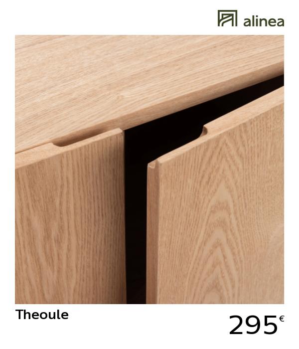 Alinea Decoration Theoule Commode 2 Portes Finitions Frene Et Rangement En Feutrine Gris Clair Wardrobe Design Bedroom White Kitchen Cabinets Wardrobe Design