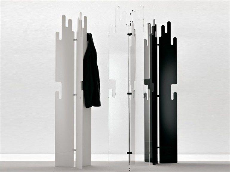 Standing Methacrylate Coat Rack Sardanapalo By Cattelan Italia