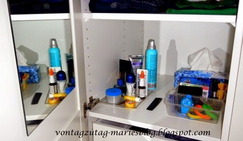 Beauty Ecke im Schrank - auch für boys Für alle, die wenig Platz - nolte küchen schubladeneinsatz