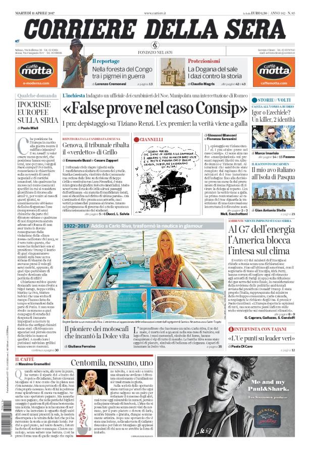 Corriere della Sera // 11/04/2017 //