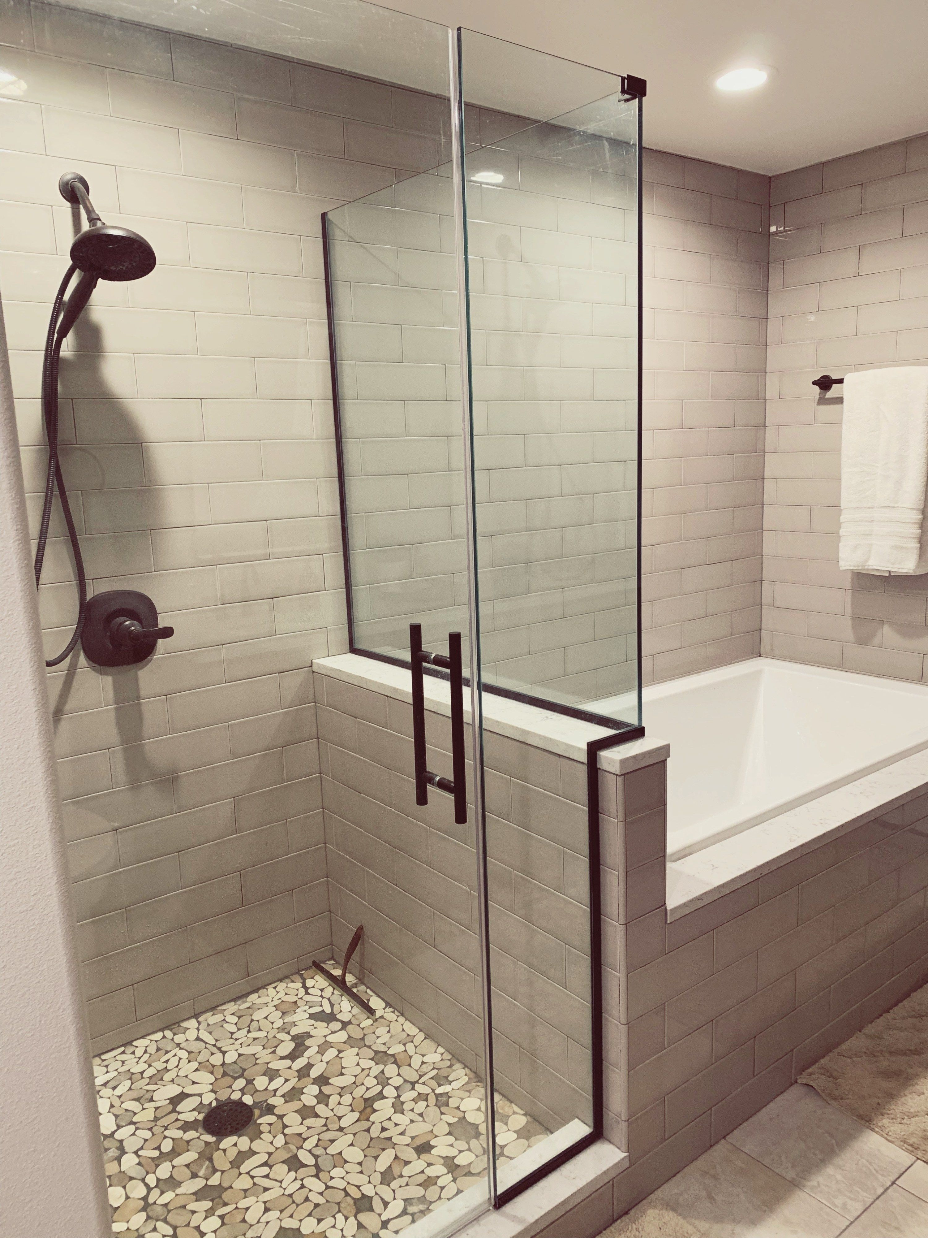 Photo of Master Bathroom Remodel – The Hamm Homestead
