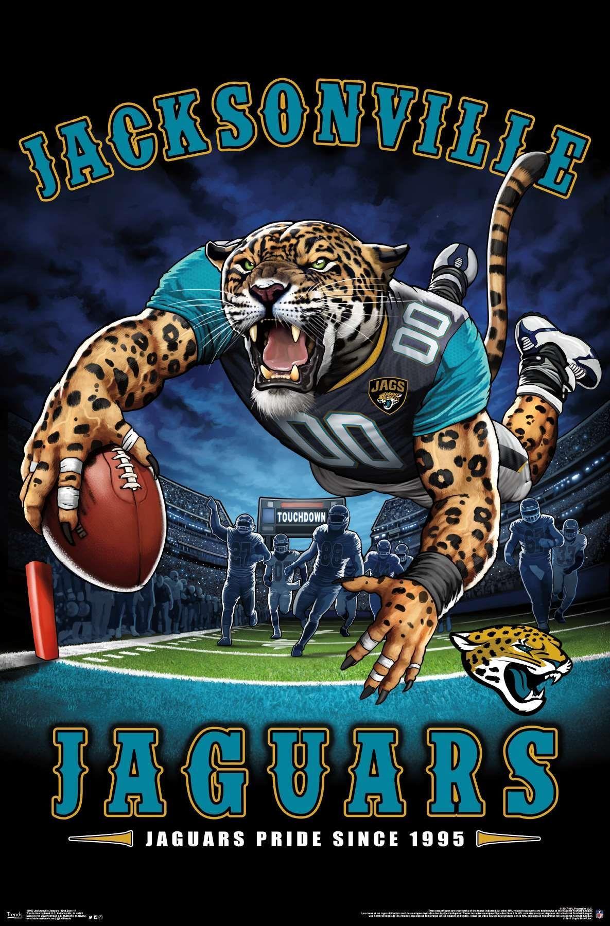 Nfl Jacksonville Jaguars End Zone In 2020 Nfl Football Teams Jaguars Football Jacksonville Jaguars