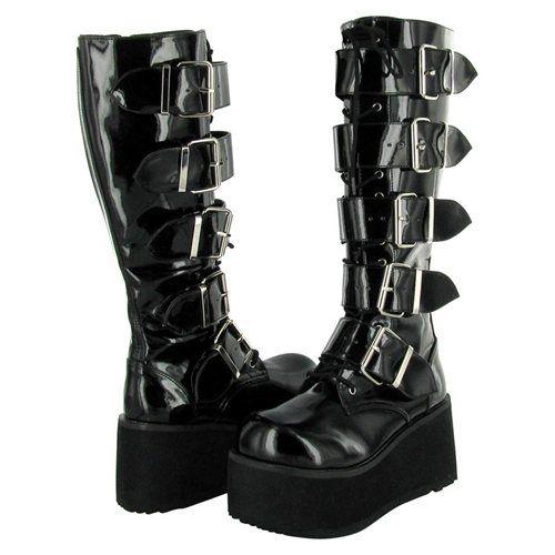 177c685ce74 Rakuten.com - DEMONIA Pleaser Trashville-518 Mens Goth Boot