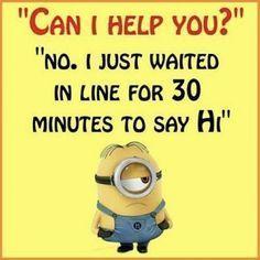 #hilariousminions #funnyminions #minionquotes #greatminions #minionpics #minion #quotes #funny #witt...