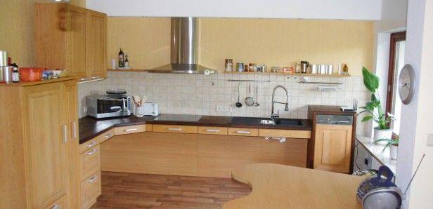 Funktionale Küche in Buche | Home: Küche / Kitchen | Pinterest