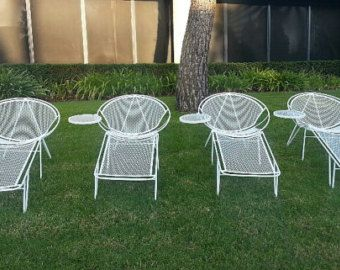 SALTERINI 2 3 Pc Sets Mid Century Modern Patio Set Removable