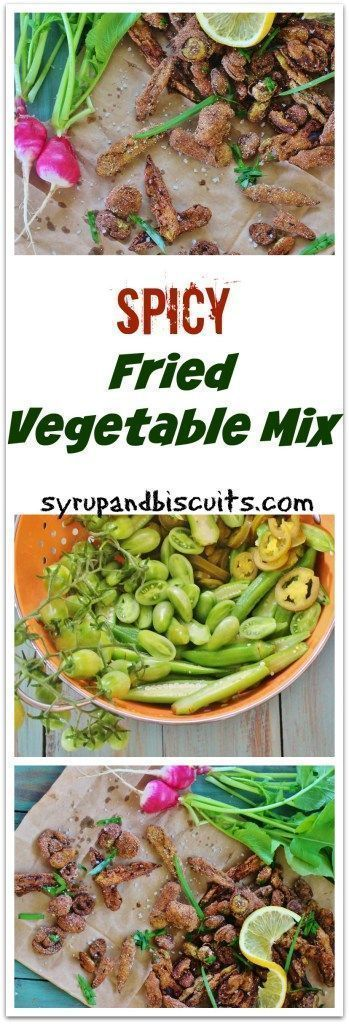 Spicy Fried Summer Vegetable Medley #summersouthernfood