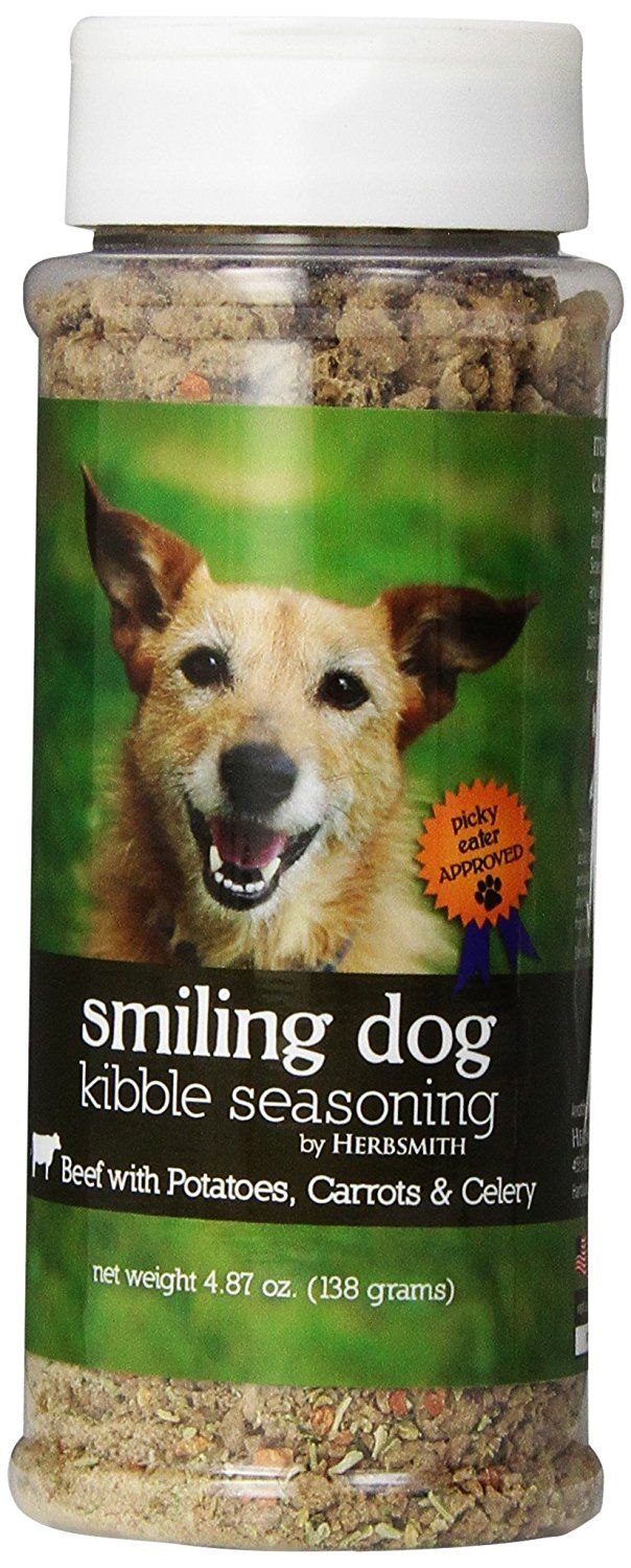 Herbsmith Smiling Dog Freeze Dried Kibble Seasoning with Beef, Potato, Carrot and Celery for Dogs and Cats * New and awesome dog product awaits you, Read it now  : Dog food types