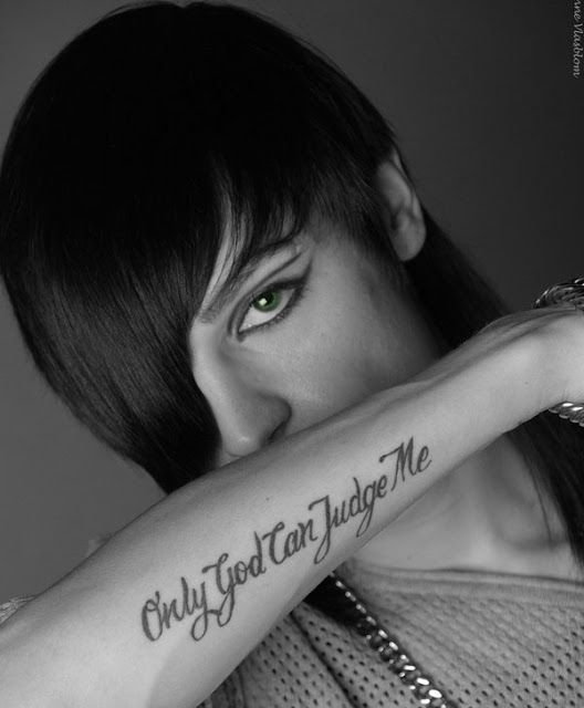 46+ Only god can judge me tatouage trends