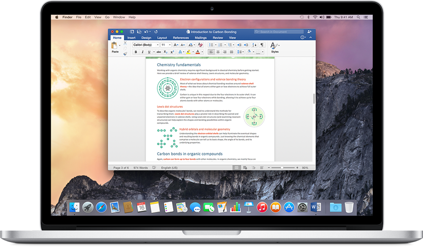 Microsoft Office for Mac gets 64bit support for better