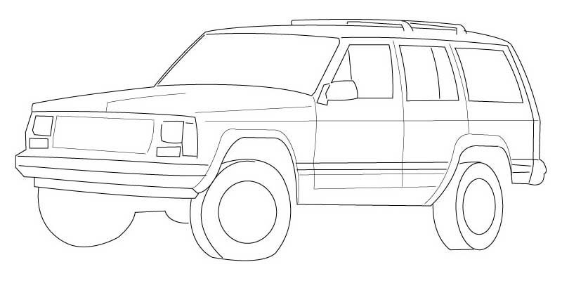 Free Jeep Coloring Pages To Print Coloring Pages To Print Jeep Grand Coloring Pages