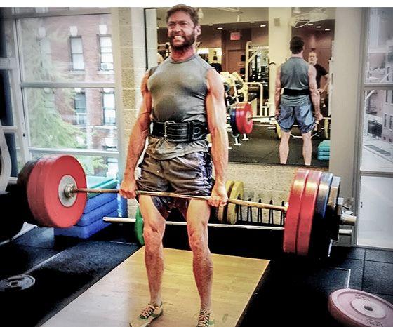 Hugh Jackman S Wolverine Workout For Mutant Strength Hugh Jackman Wolverine Workout Wolverine Hugh Jackman Hugh Jackman
