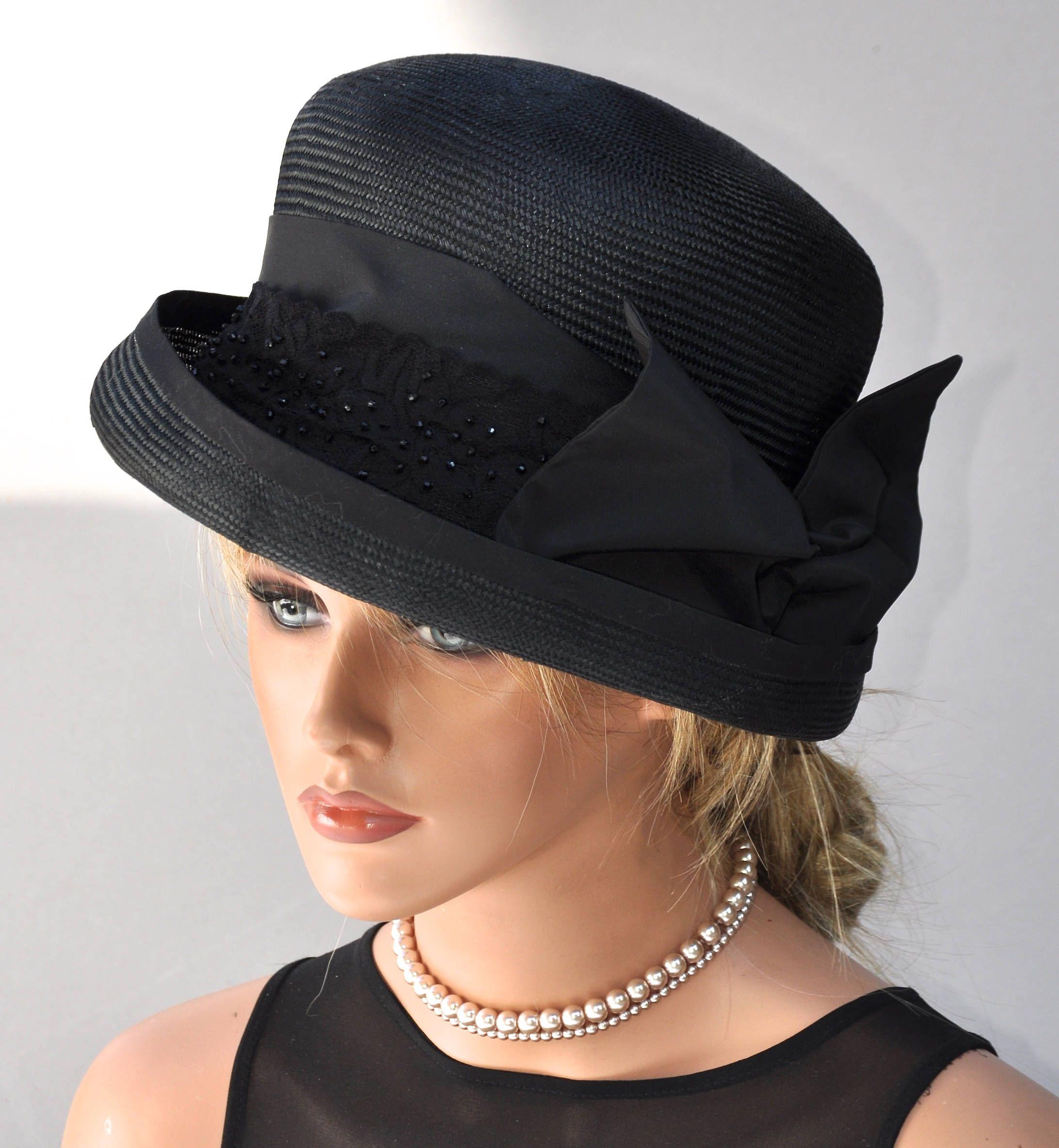 58a8c92a015 Ladies Black Hat
