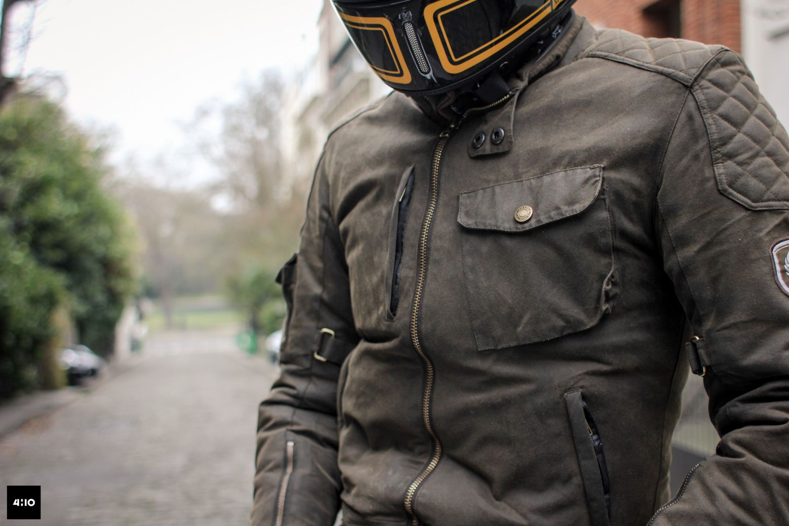 447755a53b4f1 Essai du blouson Merlin Hamstall   My Style   Motorcycle outfit ...