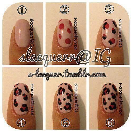Diy Leopard Print Nails Leopard Nails Simple Nails Best Acrylic Nails