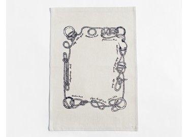 Sailor Knots Tea Towel