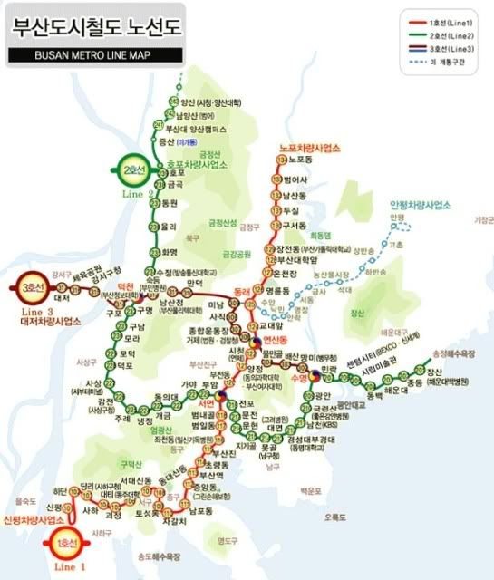 Busan South Korea Transit Maps Pinterest Busan Map And South