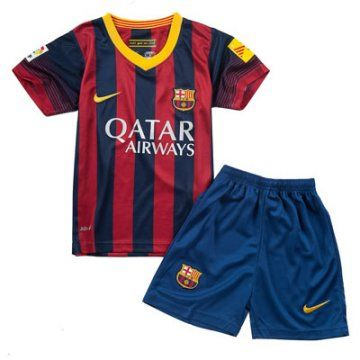 Nueva equipacion del Barcelona 2013-2014 para ninos