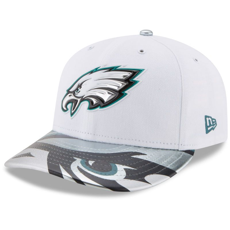 Philadelphia Eagles New Era 2017 NFL Draft On Stage Low Profile 59FIFTY  Fitted Hat - White e6645389e23