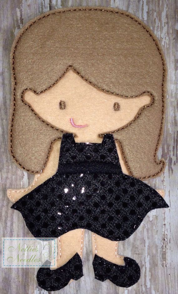 Every Girl Needs An LBD Little Black Dress by NettiesNeedlesToo, $8.00
