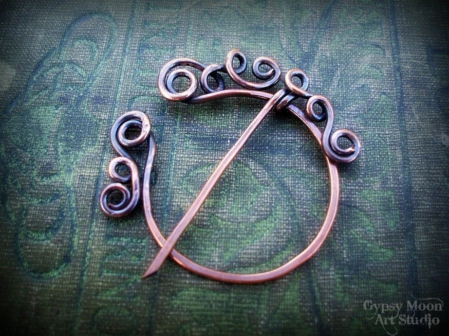 Celtic Copper Penannular Brooch | Brooch pin, Brooches and Jewelry ideas