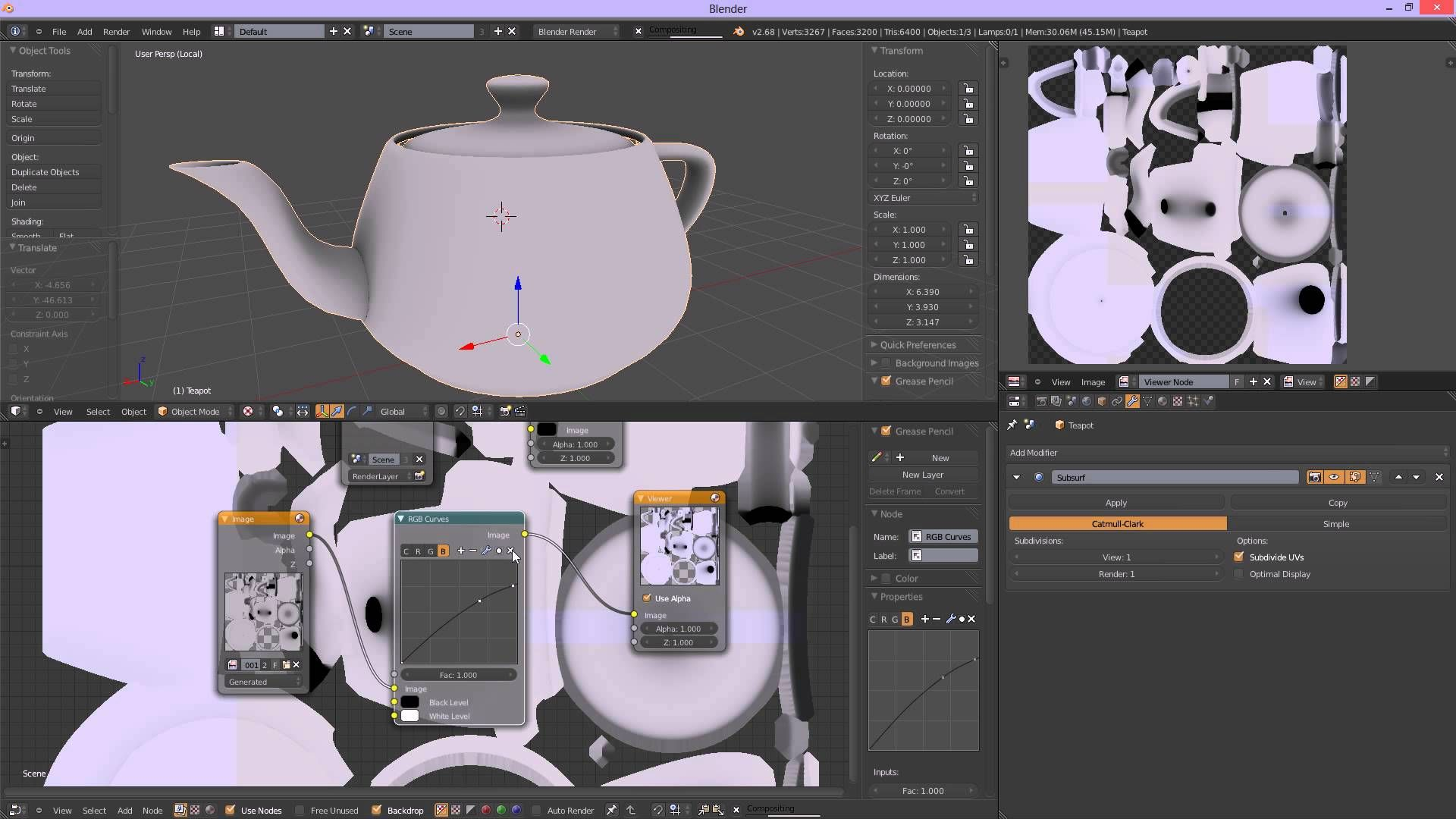 Baking AO in blender tutorial Blender tutorial, Blender