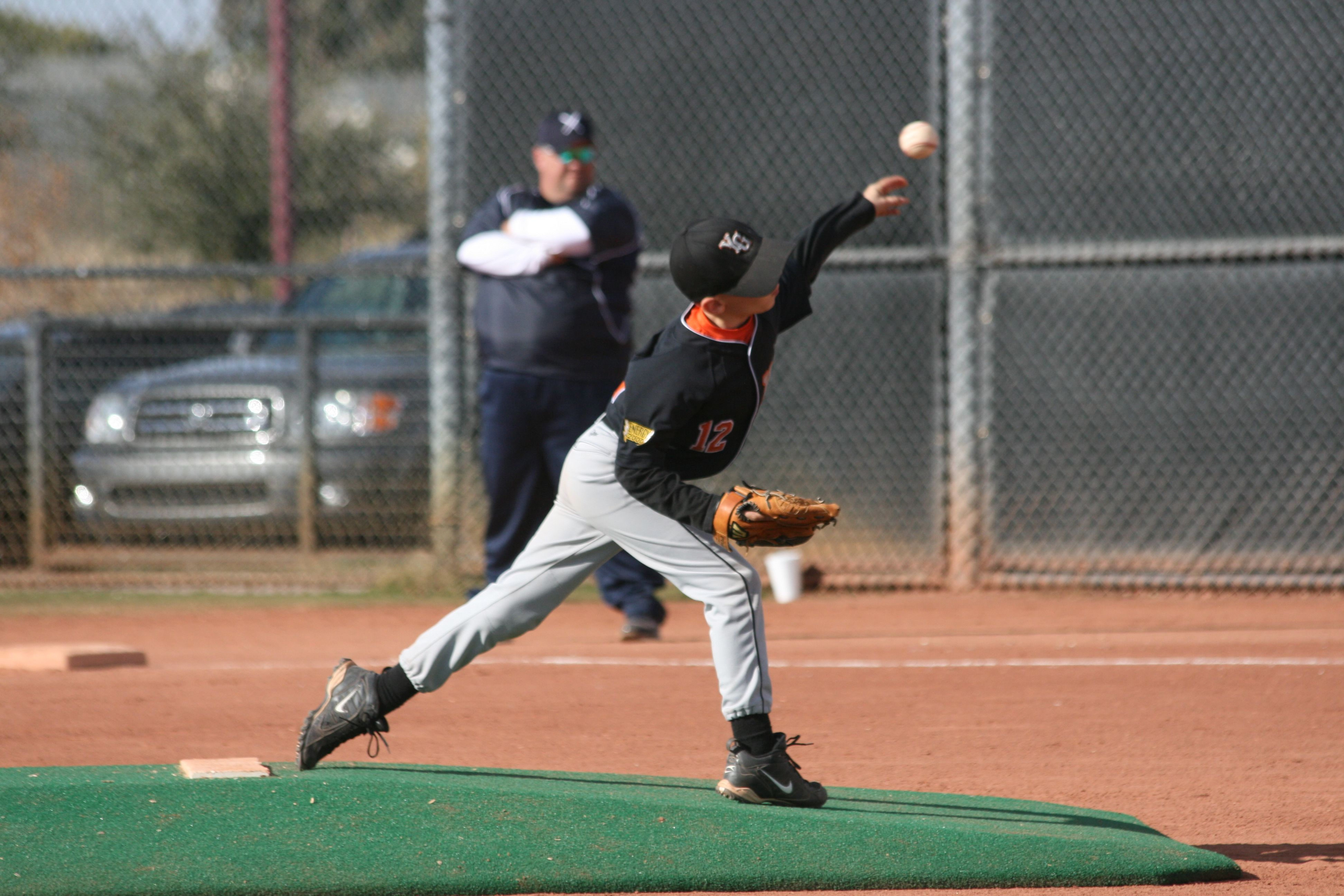 Baseball- my son