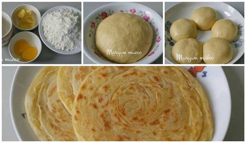 Resep Roti Maryam Original Praktis Cukup 3 Bahan Saja Resep Roti Resep Dan Resep Kue