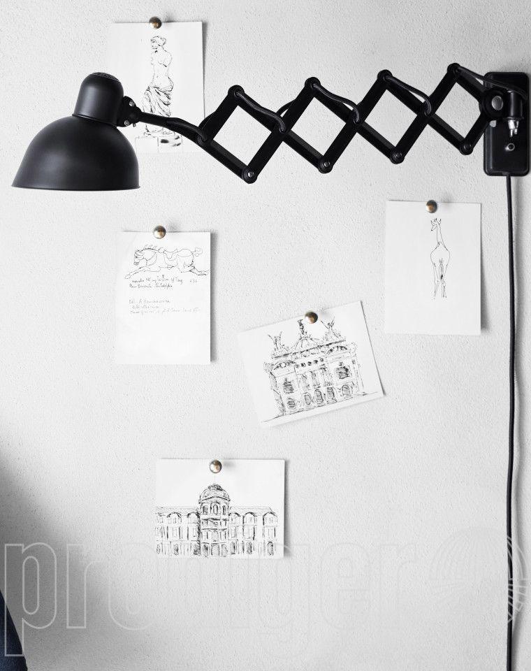 KAISER idell™ 6718-W Wand-Scherenleuchte   Lampen   Pinterest ...