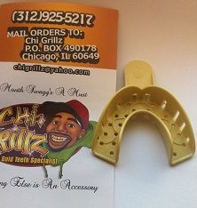 Gold Teeth Mouth Grills Molding Starter Kit Top or bottom Grillz