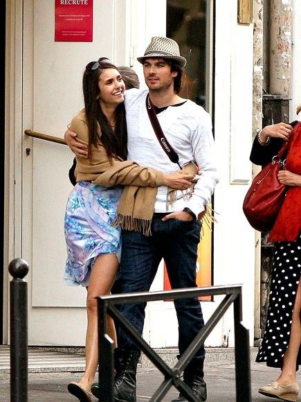 From Diaries Life Is Real Elena Dating And Vampire Damon In WEAPONS