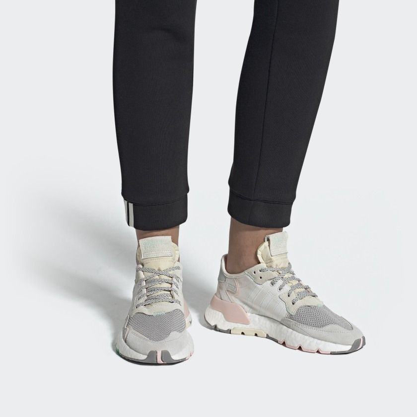 NITE JOGGER W Cloud White / Clear Mint / Icey Pink EF8721 ...