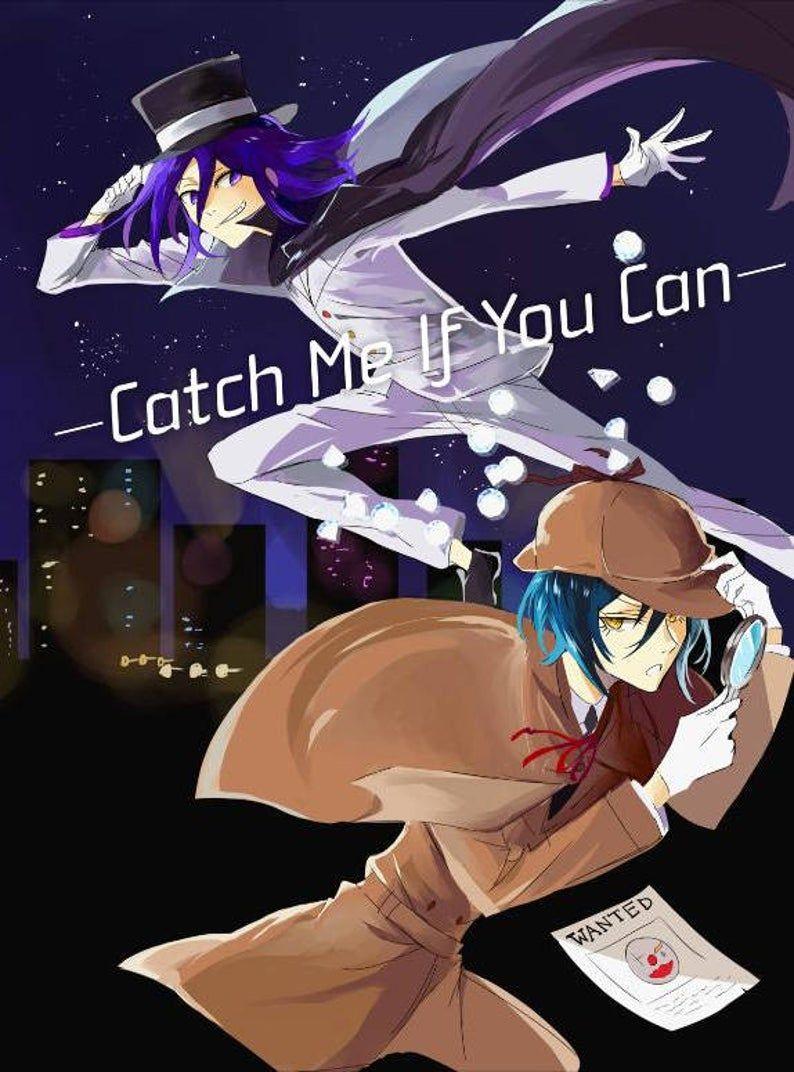 Danganronpa V3 fanbook 1 Catch Me If You Can [Saiouma