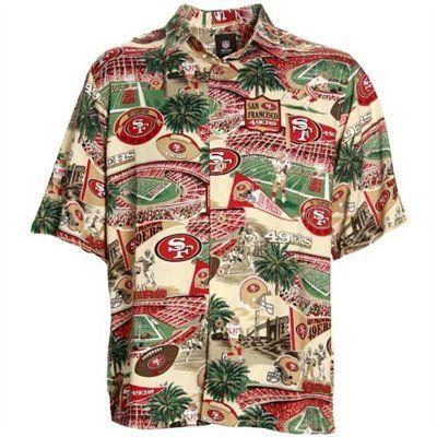 af5f072fa San Francisco 49ers Hawaiian Shirt