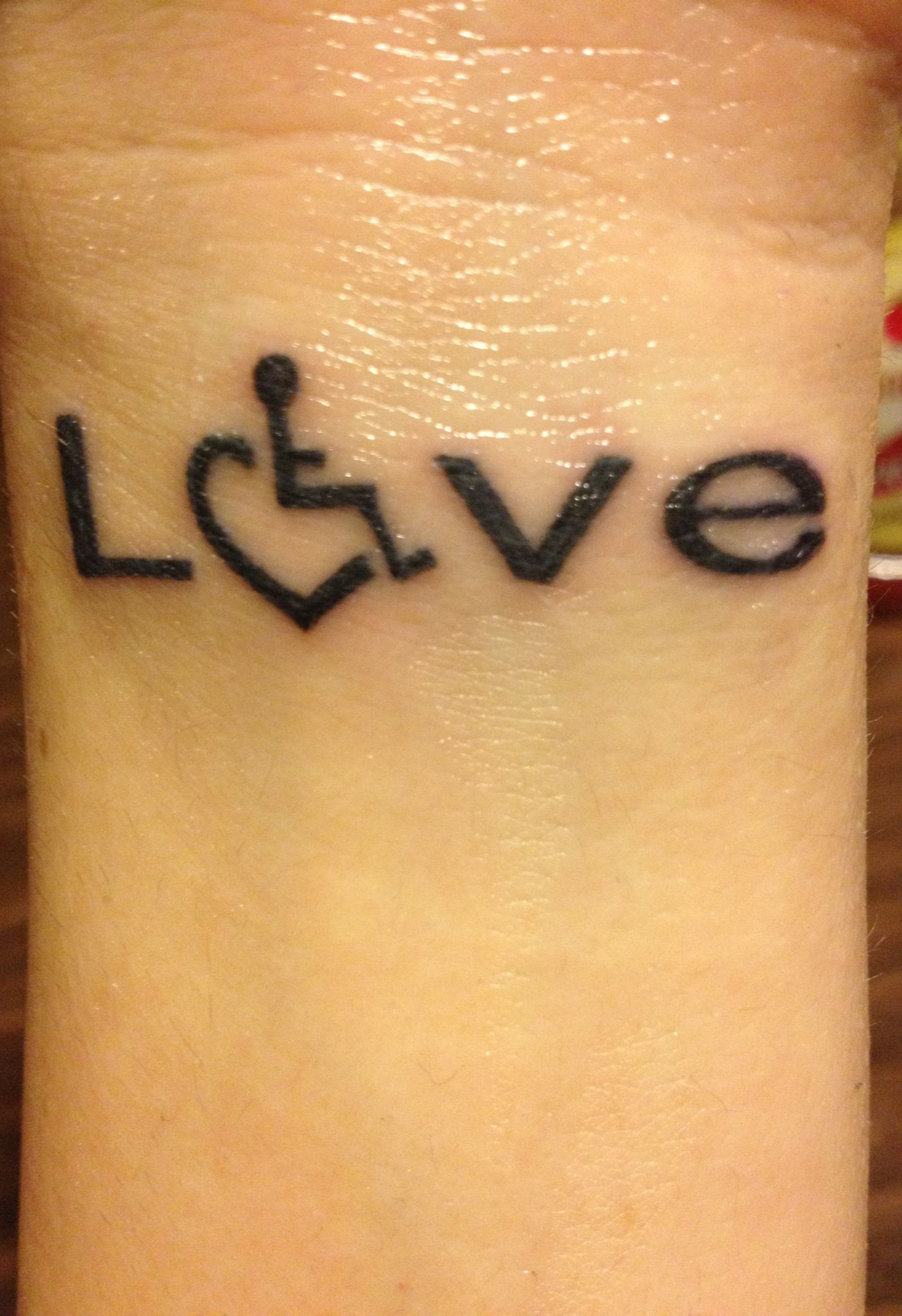 My love wheelchair heart tattoo i got for my daughter who has my love wheelchair heart tattoo i got for my daughter who has spinal muscular atrophy type buycottarizona