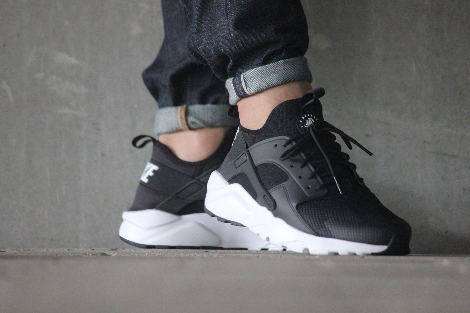 3c784a858b Nike Air Huarache Ultra Black White Anthracite - 819685-001 | Things ...