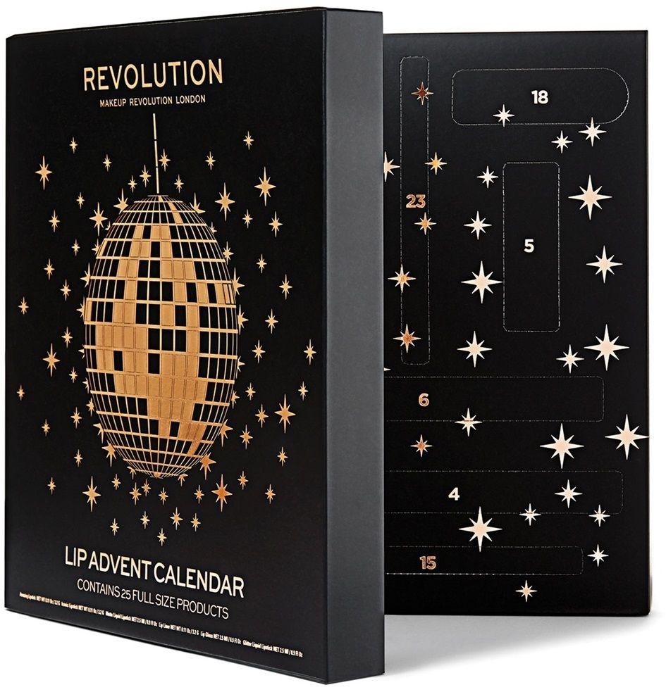 Makeup Revolution Lip Kalendarz Adwentowy 彩妆