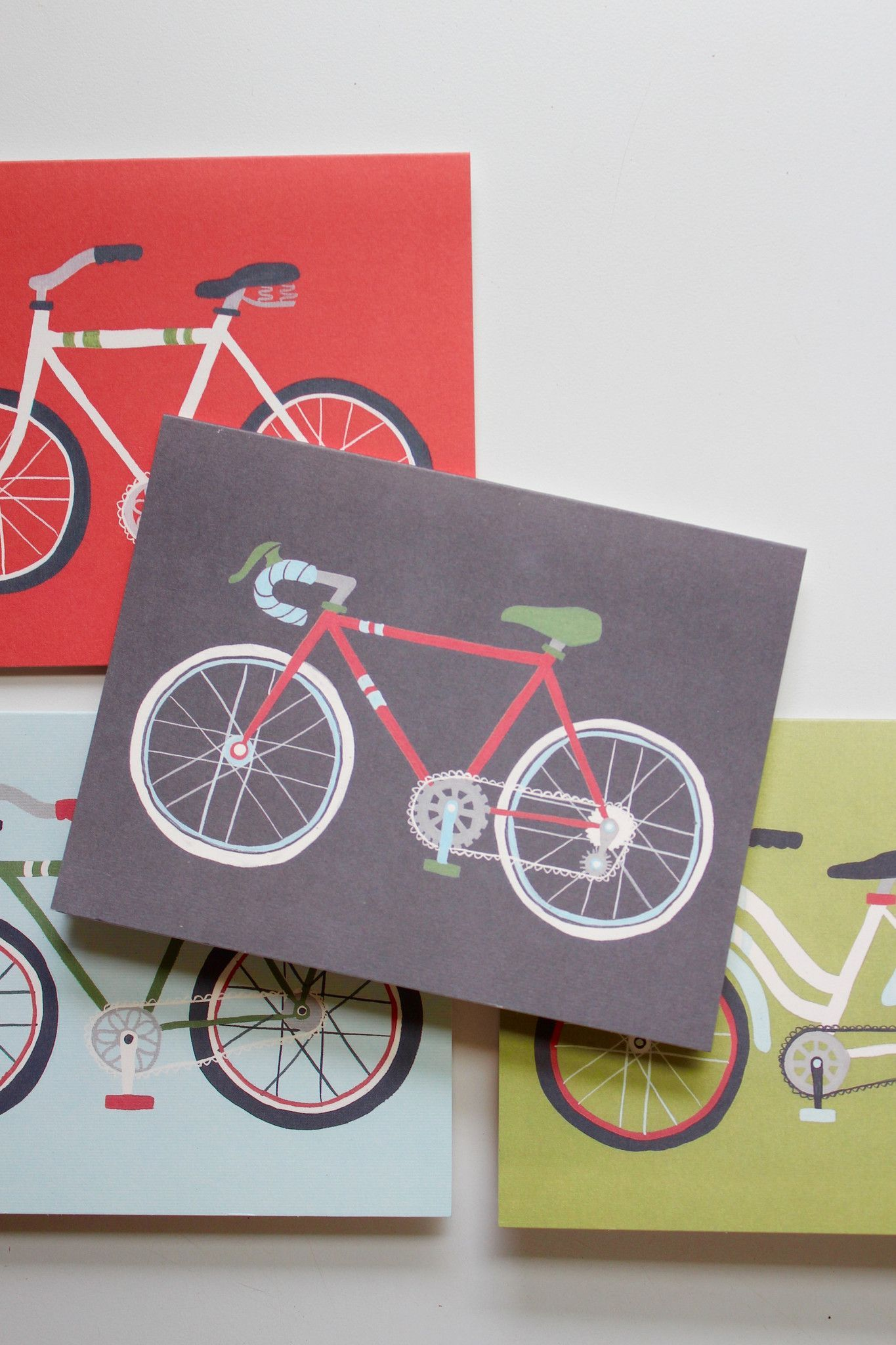 Vintage bicycle greeting cards boxed set of 8 bicycle cards vintage bicycle greeting cards boxed set of 8 kristyandbryce Choice Image