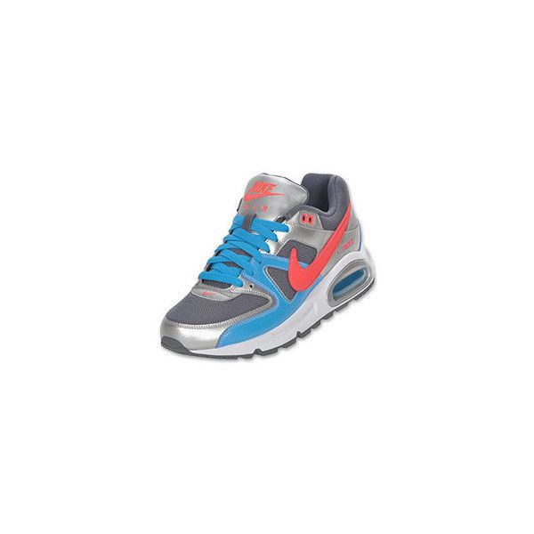 e013fc23c4e2 Nike Air Max Command Women s Running Shoe Grey Silver Blue Infrared ...