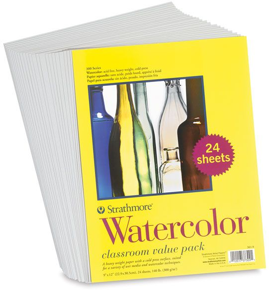 Strathmore 300 Series Student Watercolor Paper Watercolor Paper